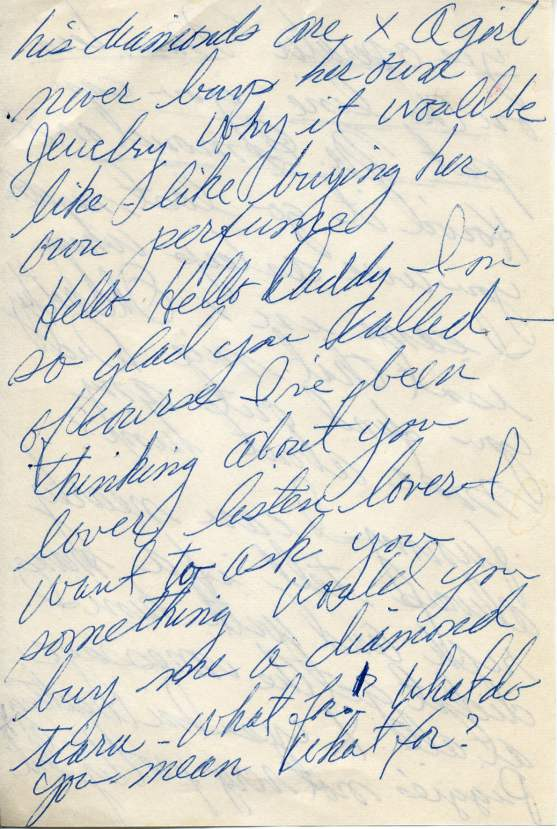 Marilyn Monroe's Notes Page 2