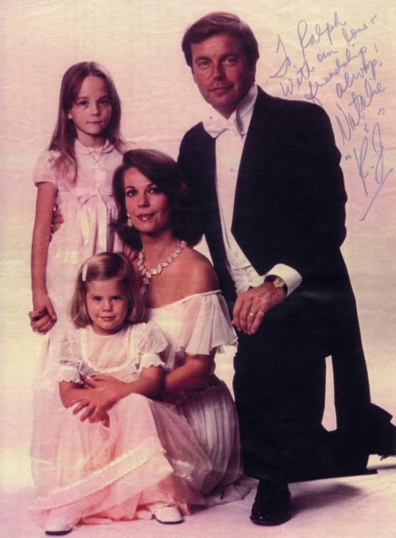 Picture and note from Natalie Wood and Robert Wagner (RJ)
