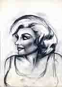 Sketch of Marilyn Monroe